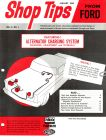 Ford Shop Tips vol 3 vintage magazine